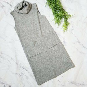 Forever 21 Heather Gray Cowl Neck Sweater Dress